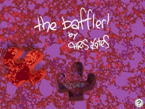 Baffler title screen